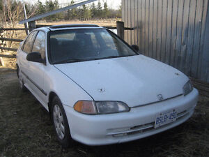 1992 Honda Civic EX-V Sedan