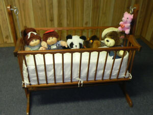 HAND MADE BABY CRADLE