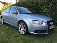 2007 07 Audi A4 2.0T FSI Special Edition S Line 10 SERVICES, SUPERB EXAMPLE