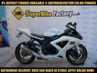 2010 10 SUZUKI GSXR600 K9 600CC 0% DEPOSIT FINANCE AVAILABLE