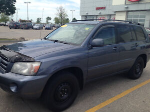 2004 Toyota Highlander OPEN TO TRADES