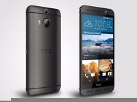 HTC M9 32G ORIGINAL UK VERSION WITH( PURCHASE RECEIPT AND BOX) IN GUNMETAL GREY++ UNLOCKED ++
