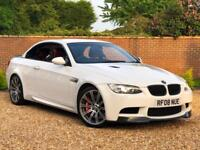 2008 08, BMW M3 4.0 ( 420bhp ) M DCT M3 CONVERTIBLE + RED LEATHER