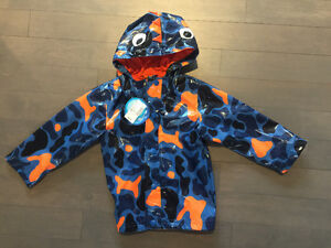 3t toddler boy clothes & brand new raincoat