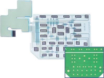 Fluke 192 196 199 Scopemeter Keypad Contact Board Replaces Foil