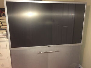 "$50 - For Sale 52"" Rear Projection High Definition TV"
