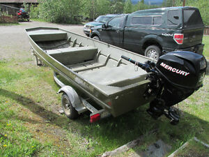 LOWE Boat with Mercury motor and Trailer