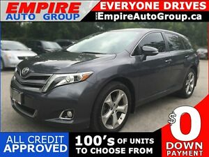2013 TOYOTA VENZA AWD * LEATHER * SUNROOF * REAR CAM * NAV * BLU London Ontario image 1