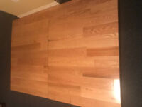 Hardwood Tap Dance Floor(2 pieces)4.5' by 6.5'