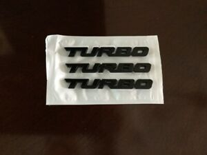 emblem turbo en metal 5$ chacune