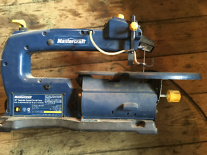 16 inch Mastercraft variable speed scroll saw