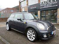 2012 Mini Mini 2.0 Cooper D London 12 3DR 62 REG Diesel Black