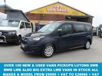2015 15 FORD TOURNEO CONNECT GRAND TDCI EXTRA LWB 7 SEATER M.P.V STYLE DIESEL