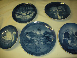 """ROYAL COPENHAGEN"" - Collector ** PLATES ** - $10.00 each **"