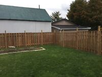 MD fence and decks