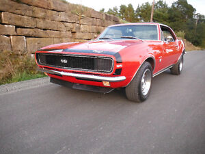 1967 Camaro SS/RS 396 4spd Clone 4P 2LG body tag  $32,000 FIRM