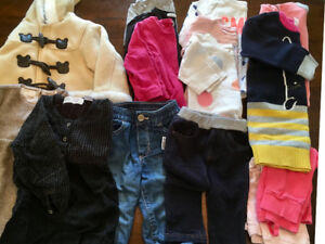 Baby girl's clothes 18-24 months
