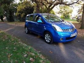 2008 Nissan Note 1.6 16v Auto Acenta 1 former keeper, long mot £2595