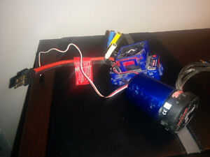 Velineon 3500 kV motor and vxl-3 ESC with cooling fan Rc traxxas