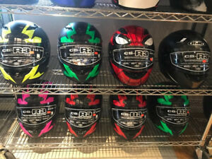 HJC FULL FACE MOTORCYCLE HELMETS AT HFX MOTORSPORTS ARE 20% OFF