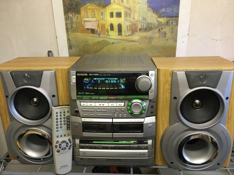Aiwa Multi Cd Stereo System Hi Fi In Newtownabbey