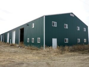 UNRESERVED AUCTION - 2 HOMES W/ INDUSTRIAL BUILDING & LAND