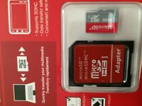 64 GB micro sd cards with adapter