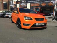2007 57 FORD FOCUS 2.5 ST-3 3D FULL LEATHER 7 SERVICES STUNNING