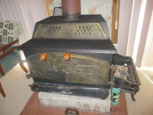 Wood stogves with character