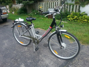 24 volt peddle assist, e bike for sale