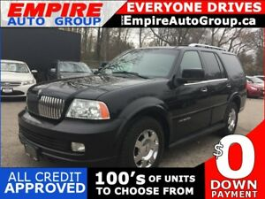 2006 LINCOLN NAVIGATOR LIMITED * 4WD * LEATHER * NAV * DVD * POW