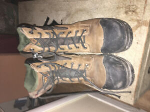 Size 10 steel toed boots