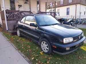 1996 VW Cabriolet convertible  Sarnia Sarnia Area image 1