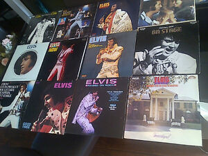 ELVIS PRESLEY VINYL LP COLLECTION SET 6 - 12 TITLES FANS ONLY!!!