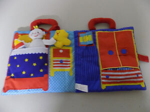 MY BABY GOODNIGHT CLOTH BOOK AND PLAY SET London Ontario image 2