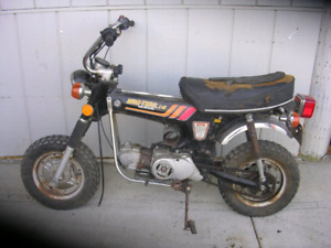 Wanted Honda ct 70