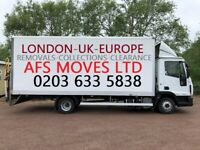 Urgent Moving Services House Removal Office Collections Cheap Man & Van Hire Waste Clearance