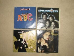 Jacksons, Jackson 5, David Bowie, Madonna Vinyl Records