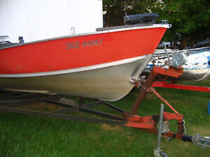 FOR SALE -BOAT, MOTOR AND TRAILER (REDUCED)