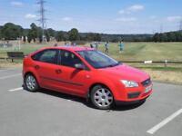 Ford Focus 1.6 LX 5 Door Bright Red