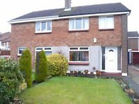 3 Bedroom semi detached in sought after area in Linlithgow