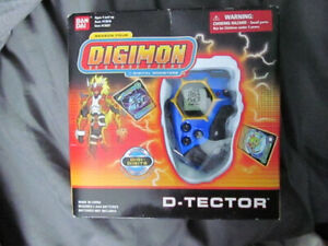 Selling Digimon Digivice Blue D-Techor, with Digimon season one