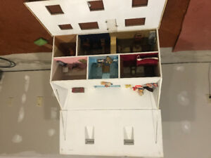 Hand made doll house