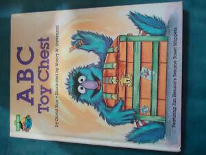 ABC toy chest:  Jim Henson's Sesame Street Muppets~~HARDCOVER