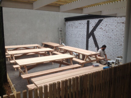 Outdoor Timber Picnic Tables (5 sizes)