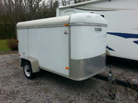 Closed Cargo Utility Trailer For Sale