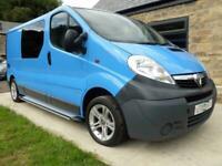 Vauxhall Vivaro LWB 2 berth rear bed campervan conversion for sale Ref 132257