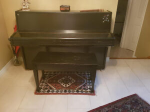 For Sale: Upright Used Piano with Bench