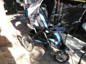 Baby Trend Expedition ELX Jogging Stroller-- Waterfall Blue