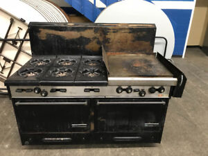 Denson Gas Commercial Stove And Griddle